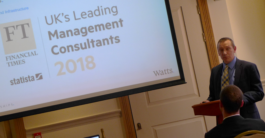 Ian Ford, MD Watts sets the tone of surveyor excellence at MPG 2018 April